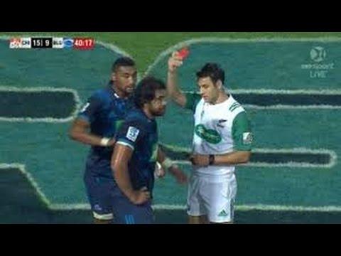 Steven Luatua RED Card Rugby