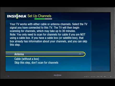 Setting Up Your New TV   Insignia Connected TV