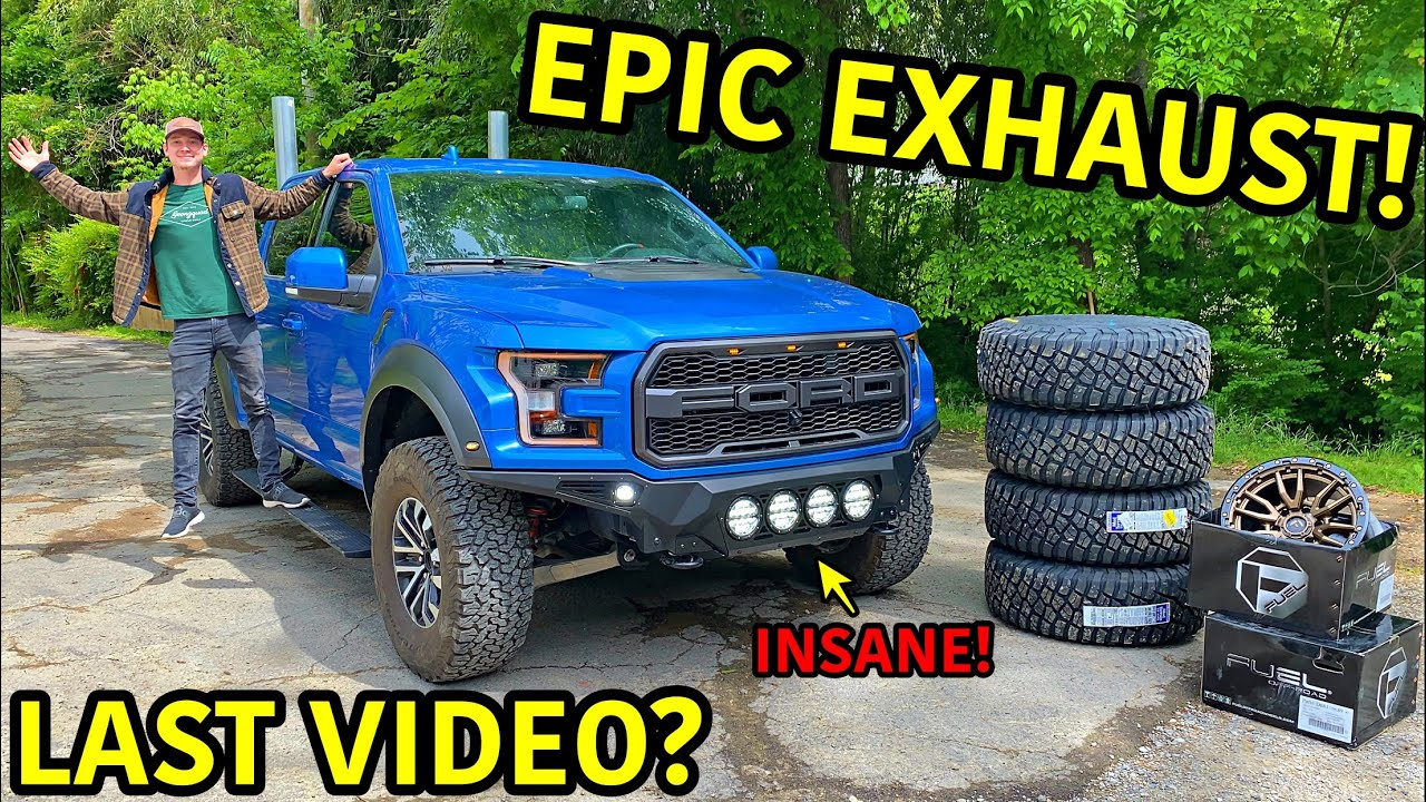 Rebuilding A Wrecked 2019 Ford Raptor Part 17