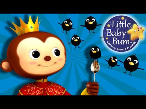 Sing a Song of Sixpence   Nursery Rhymes   By LittleBabyBum!