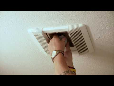 Changing Bulb in Exhaust Fan Shadow Pines