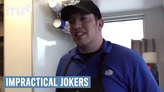 Impractical Jokers - How to Pet a Mustache   truTV