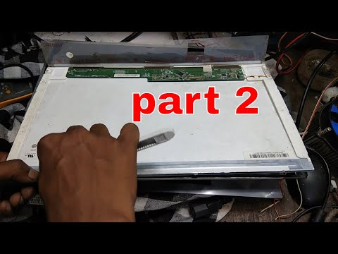 laptop lcd/led back light issue # how to replace/repair or get free from scrap # part-2