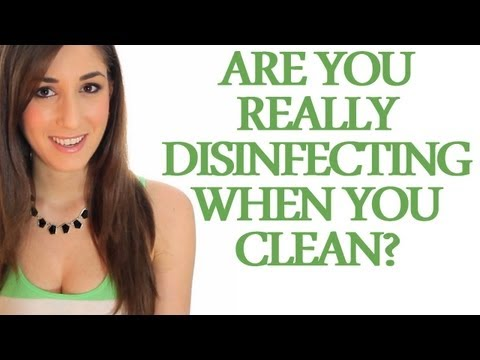 Disinfectants vs. Cleaners - Are You Really Disinfecting When You Clean? (Clean My Space)