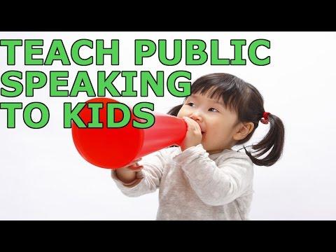 7 Ways To Teach Public Speaking To Kids