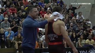 Final X Wrestle Off Yianni Vs Zain