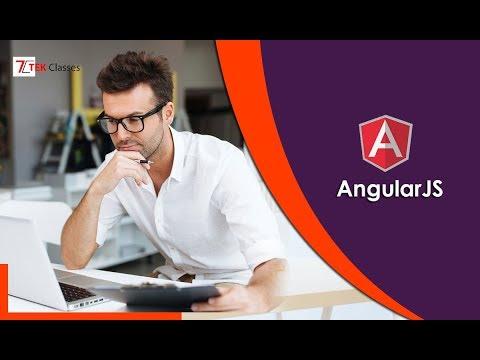 AngularJS Training Video | AngularJS Demo
