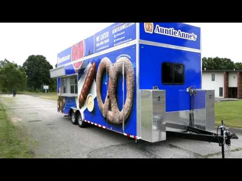 Auntie Anne's Concession Trailer - Custom Concessions