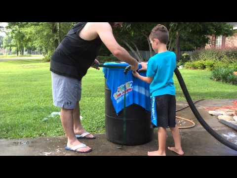 DIY Foam Machine   Summer Fun