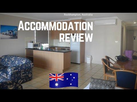 Rockhampton accommodation review   City Ville motel Queensland, Australia