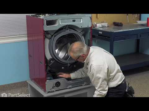 LG Washer Repair - How to Replace the Tub to Pump Hose (LG Part # 4738ER1002A)