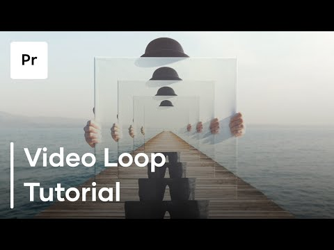How To Make A Video Loop Using Premiere Pro - Premiere Pro Looping Tutorial