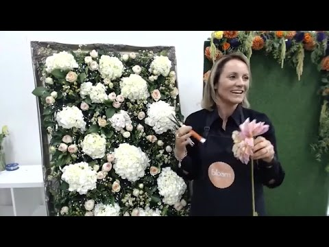 How to make a Flower Wall | Bloom TV LIVE 30/3/16