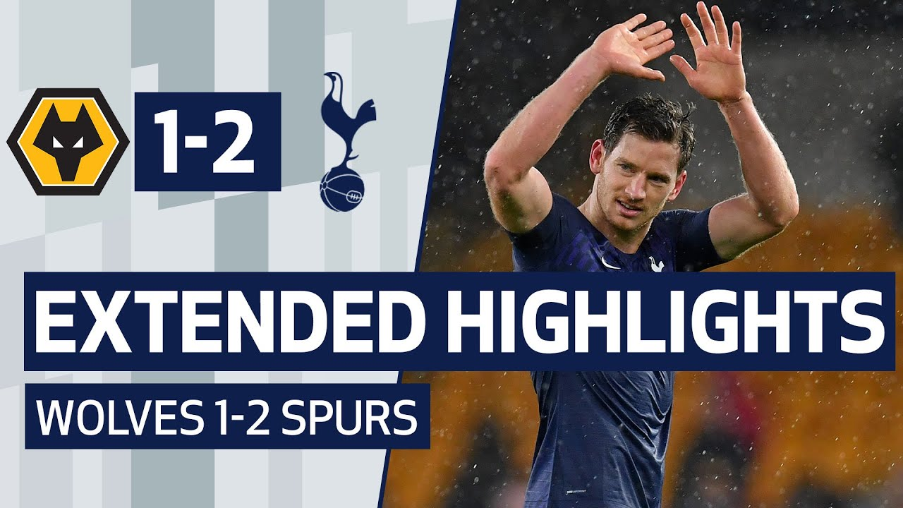 EXTENDED HIGHLIGHTS | Wolves 1-2 Spurs