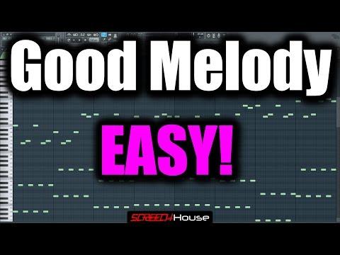 MELODY TUTORIAL FL STUDIO   How to Make a Good Melody   Hardstyle Melody FL Studio Trance Melody