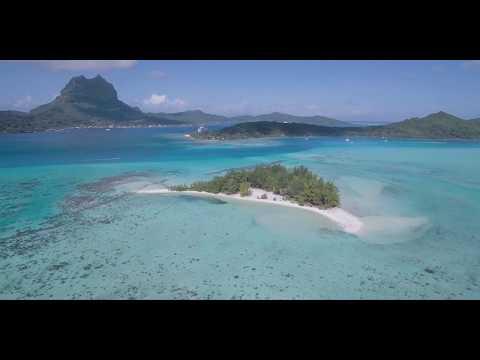 4k BORA BORA THAITI AND MOOREA BY DRONE