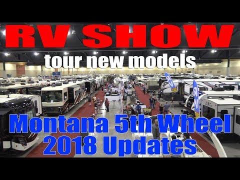 Montana 5th Wheel RV Inside Tours of 2018 Models