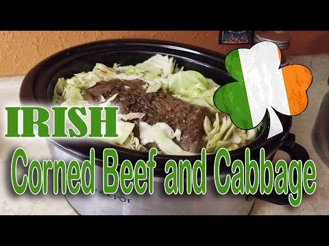 Corned Beef and Cabbage | Crock Pot Recipe Super Easy