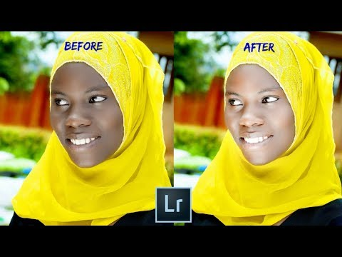 How to Change Skin Color from Dark to Light in Lightroom