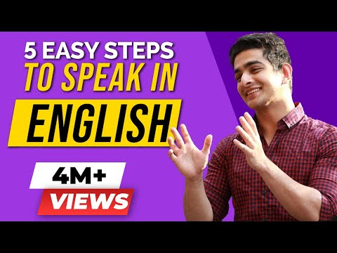 EASIEST English Speaking Hacks - 5 Steps to Talking Fluently and with Confidence | BeerBiceps