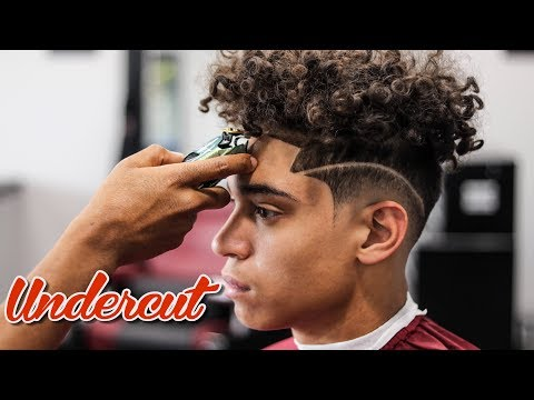 BARBER TUTORIAL:  UNDERCUT   LOW FADE WITH SIDE PART