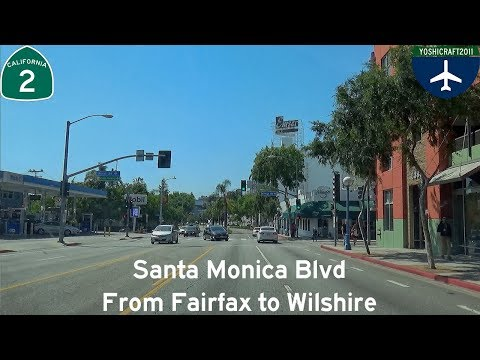 (5-15) Santa Monica Blvd from Fairfax to Wilshire