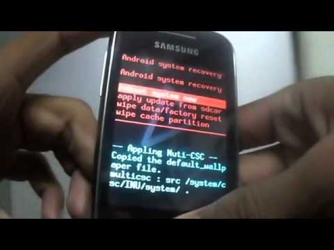 HOW TO INCREASE INTERNAL MEMORY BY PARTITION MEMORY CARD IN ANDROID (DEMO ON GALAXY Y)