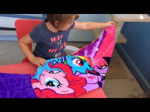 My Little Pony Blankie Tails