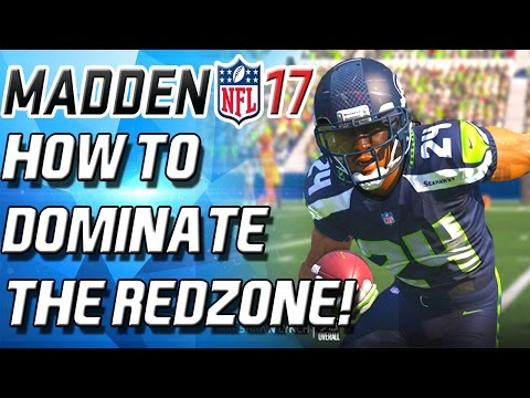 EASY TOUCHDOWNS! HOW TO DOMINATE THE REDZONE! - Madden 17 Ultimate Team