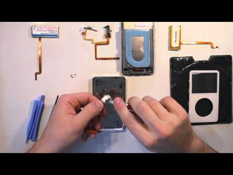 Ipod Headphone jack  and battery replacement