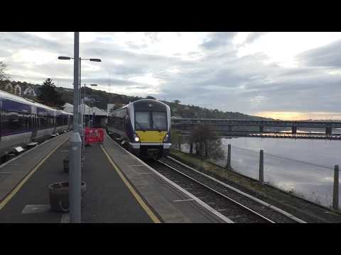 Translink NI Railways Class 4000 departing Derry - Londonderry