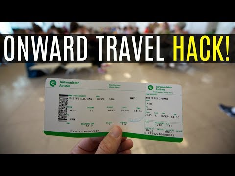 HOW TO GET PROOF OF ONWARD TRAVEL WITHOUT BUYING A TICKET