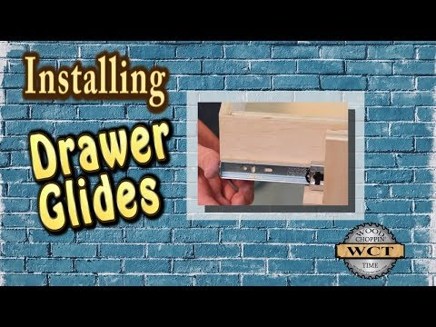 My way to Install Drawer Glides