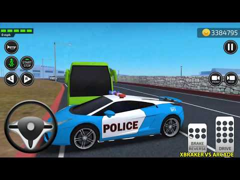 Car Driving Academy 2018 3D New Paint Police Car Unlocked Android Gameplay
