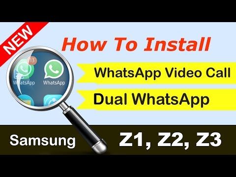 Z2 WhatsApp Video Call | Samsung Z3 WhatsApp Video call | Samsung Z1 Whatsapp DUAL