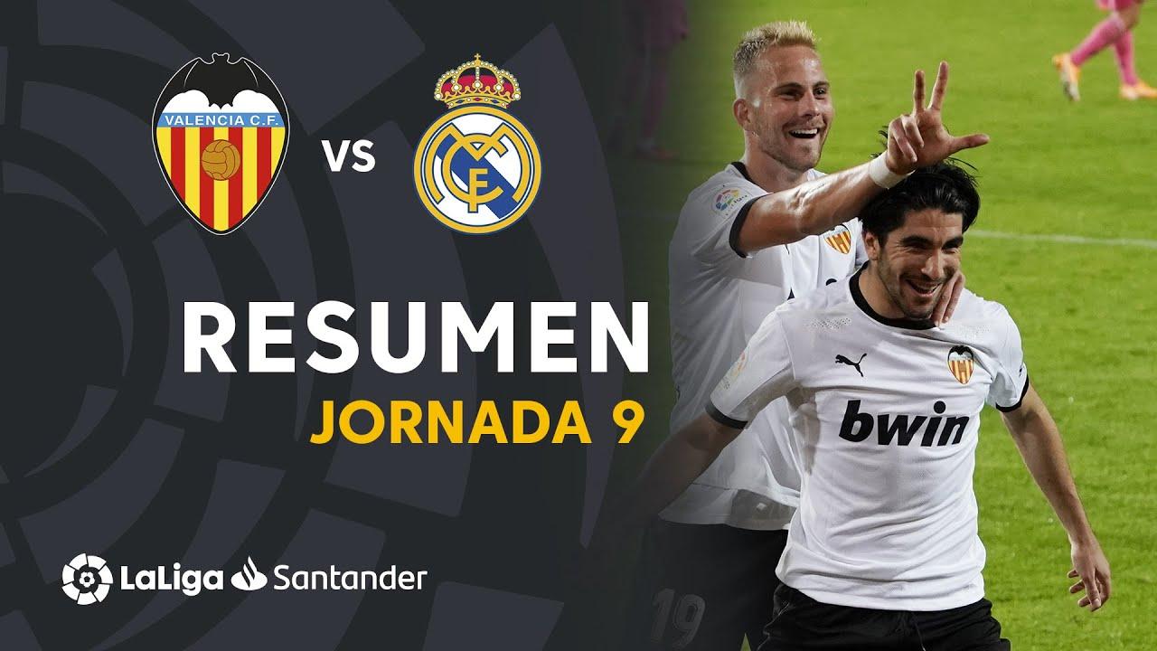 Resumen de Valencia CF vs Real Madrid (4-1)