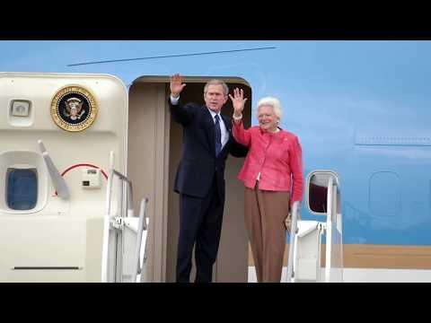 Barbara Bush during The White House years