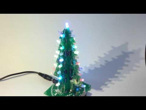 RGB led Christmas tree