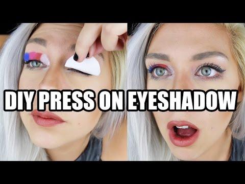 Beauty Hack or Wack? DIY Press On EyeShadow Tattoos
