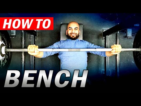 Benching the Bar - Barbell Bench Press For Beginners