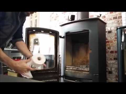 How To Clean The Glass On Your Wood Burning Stove