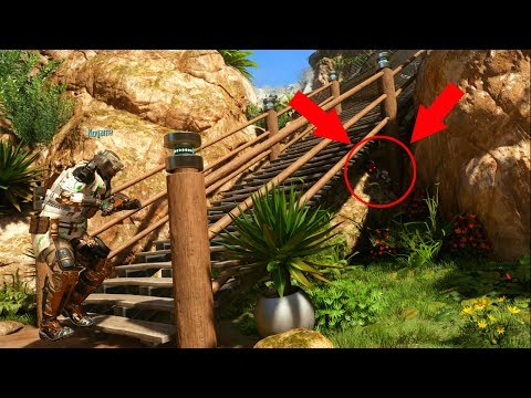 EXTREMELY NEW SNEAKY HIDING SPOT!!! HIDE N' SEEK ON BLACK OPS 3