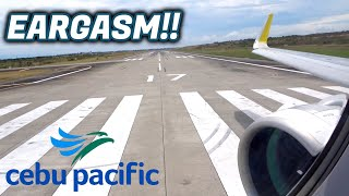 CEBU PACIFIC AIRBUS A320NEO RP-C4109 TAKEOFF FROM GES/RPMR - MNL/RPLL | 5J996