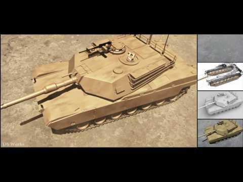 Camera Tracking+Animation tank   test shot