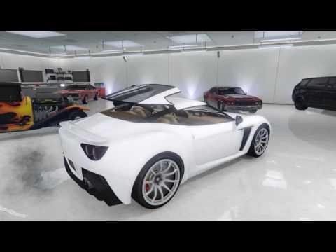 GTA5: All Convertible Hardtops