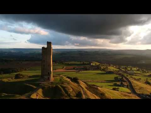 Castle Hill From A Drone - Huddersfield