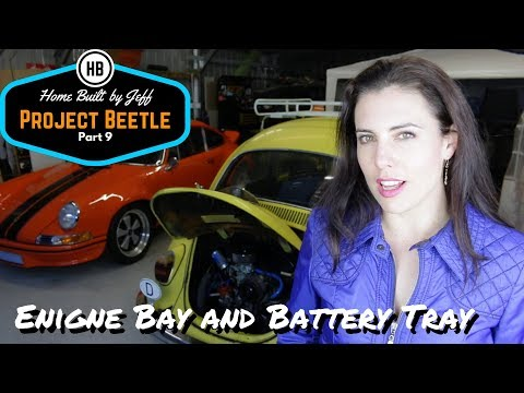 Engine clean up and battery tray rust - Home Built Project Beetle part 9