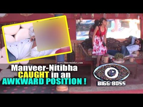 Bigg Boss 10: Manveer Gurjar, Nitibha Kaul CAUGHT In An AWKWARD POSITION  New 'Love Bird