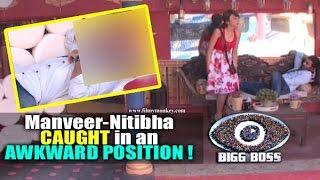 Bigg Boss 10: Manveer Gurjar, Nitibha Kaul CAUGHT in an AWKWARD POSITION! New 'Love Bird