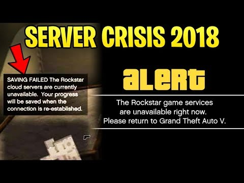 GTA Online SERVER CRISIS 2018 - What NOT To Do, How to Get Back Online + No New Vehicles